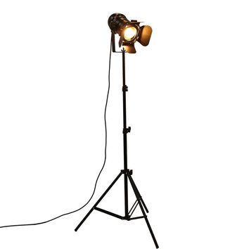 Industrial Bar Creative Studio Retro Tripod Black Floor Lamp Lights Room Light Stand Ceiling lighting OY16F01 Free