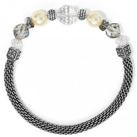 Brighton Soho Stretch Bracelet Pearl