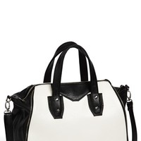 Under One Sky Two-Tone Satchel (Juniors) | Nordstrom