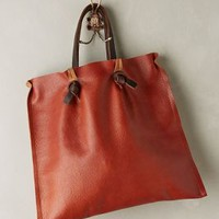 Tucked Pinch-Pleat Tote by Specialty Dry Goods Cedar One Size Bags