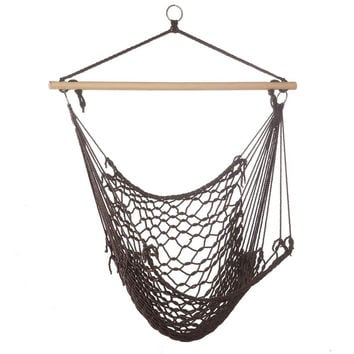Outdoor Hammock Chair, Best Cheap Hanging Chair Swing, Recycled Cotton