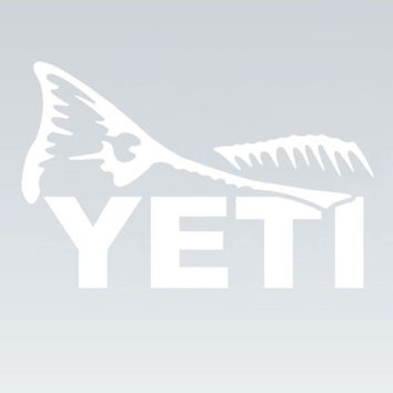 Redfish Tail Window Decal | YETI Coolers