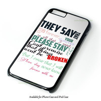 If I'M James Dean, Then You'Re Audrey Hepburn Design for iPhone and iPod Touch Case