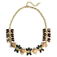 Navy Bloom Necklace