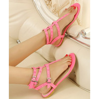 Candy Color Sandals with Cute Studs for Women v061621