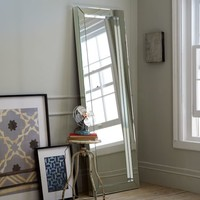 Parsons Floor Mirror – Mirrored
