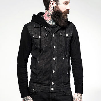 Dead End Denim & Cotton Jacket