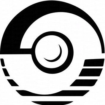 Professor Program Pokeball Pokemon  Vinyl Car/Laptop/Window/Wall Decal