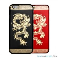 Chinese Dragon Gold Case - iPhone 6