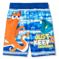 Toddler Boys' Finding Dory Swim Trunk - Blue