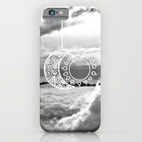 Black & White Love iPhone & iPod Case by Pink Berry Patterns
