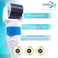 Derma Roller Skin Treatment - Rejuvenates & Enhances Your Skin - Eye Treatment Roller - Eliminate Wrinkles, Scars, Cellulite, + more - Micro-Needle System for Safe and Effective Skin Care - Quick Results and Guaranteed Satisfaction!