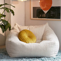 Cooper Faux Sheepskin Lounge Chair   Urban Outfitters