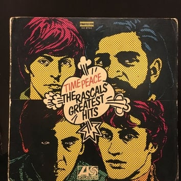5 DAY SALE (Ends Soon) Vintage 1968 Time Peace The Rascals Greatest Hits Vinyl LP Record Good Condition