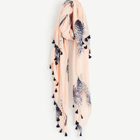 Scattered Pineapple Scarf | Ann Taylor