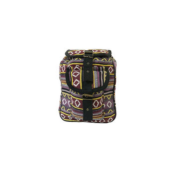 WillaRue Aztec Traveler Multi Purple