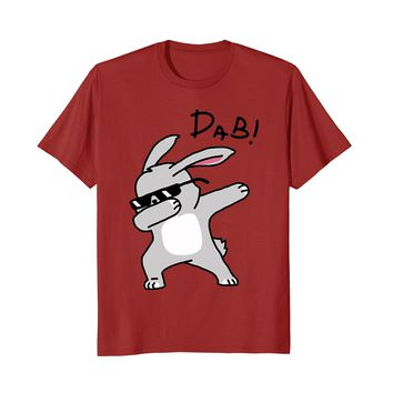 Dabbing Easter Hiphop Bunny Funny Shirt For Kid 2018