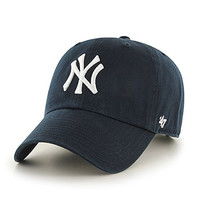 Unisex Vintage Retro Clean Up NY Embroidered Baseball Cap Hat