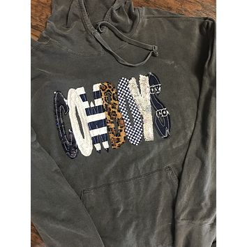 TEAM/SPIRIT SWEATSHIRT - COMFORT COLORS BRAND