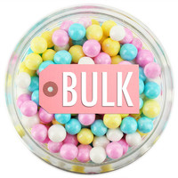 Pearly Spring Mix Sugar Pearls BULK