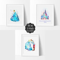 Cinderella, Set of 3