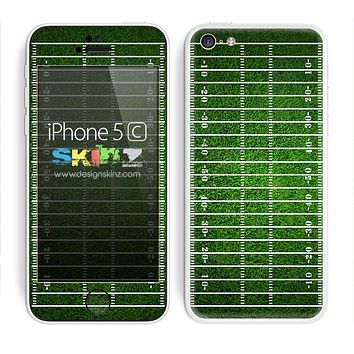Football Field Turf Green Skin For The iPhone 5c