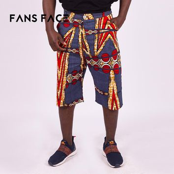 FANS FACE 2018 African Mens Beach pants Fashion Clothing Traditional African Pattern Plus Size Men's pants