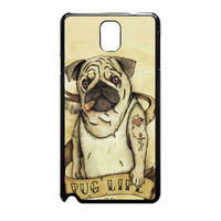 Funny Pug Life 978 Samsung Galaxy Note 3 Case