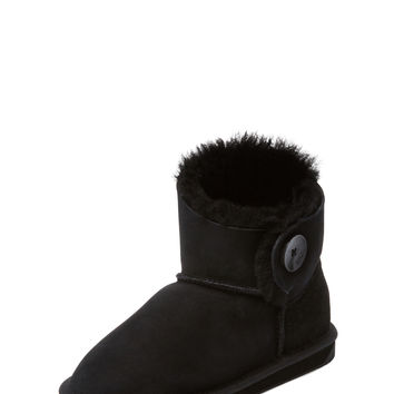 EMU Australia Women's Valery14 Mini Sheepskin Bootie - Black -