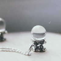 STERLING SILVER FORTUNE TELLER NECKLACE