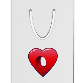 Hole Heartedly Broken Heart Aluminum Paper Clip Bookmark by TooLoud