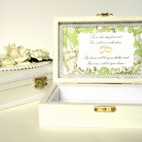 Wedding Ringbearer Box Keepsake Jewelry Box