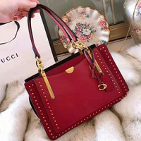 Coach 2018 new handbag shopping bag casual bag Messenger bag