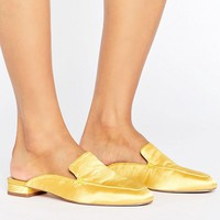 ASOS LASHES Square Toe Ballet Mules at asos.com