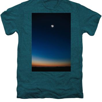 Solar Eclipse, Syzygy, The Sun, The Moon And Earth - Men's Premium T-Shirt