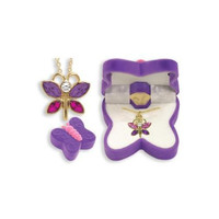 Butterfly Animal Necklace in Butterfly Box