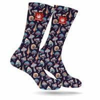SHROOMED CREW SOCKS