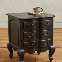 Lawrence Nightstand by Anthropologie Black One Size Furniture