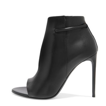 Linette Leather Booties
