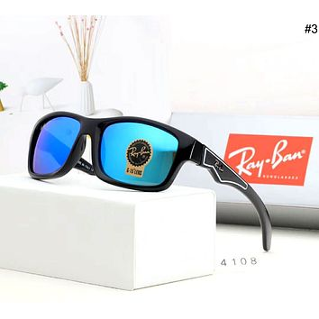 Ray-Ban street fashion men and women retro pilot riding sunglasses #3