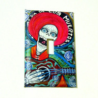 Light Switch Cover - Light Switch Day of the Dead
