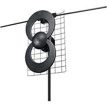 "Antennas Direct C2-V-CJM ClearStream 2V UHF-VHF Indoor-Outdoor DTV Antenna with 20"" Mount"