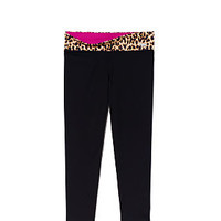 Reversible Ultimate Yoga Crop Leggings - PINK - Victoria's Secret