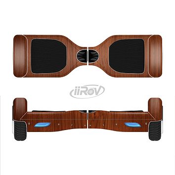 The Rich Wood Texture Full-Body Skin Set for the Smart Drifting SuperCharged iiRov HoverBoard