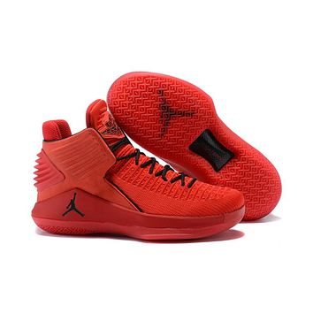 Air Jordan 32 XXXII Red Basketball Shoes US 7--12