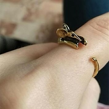 Tiny Mouse Ring