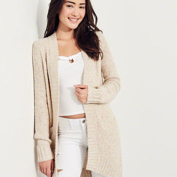 Girls Textured Cardigan | Girls New Arrivals | HollisterCo.com