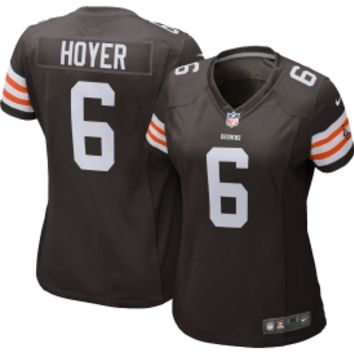 Nike Women's Home Game Jersey Cleveland Browns Brian Hoyer #6