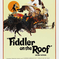 Fiddler on the Roof 11x17 Movie Poster (1972)
