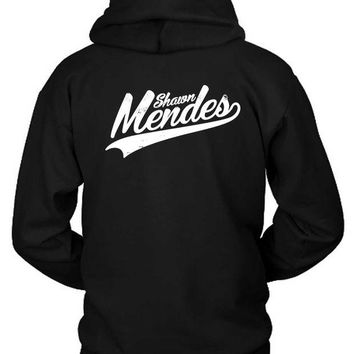 DCCKG72 Shawn Mendes Logo Title Hoodie Two Sided